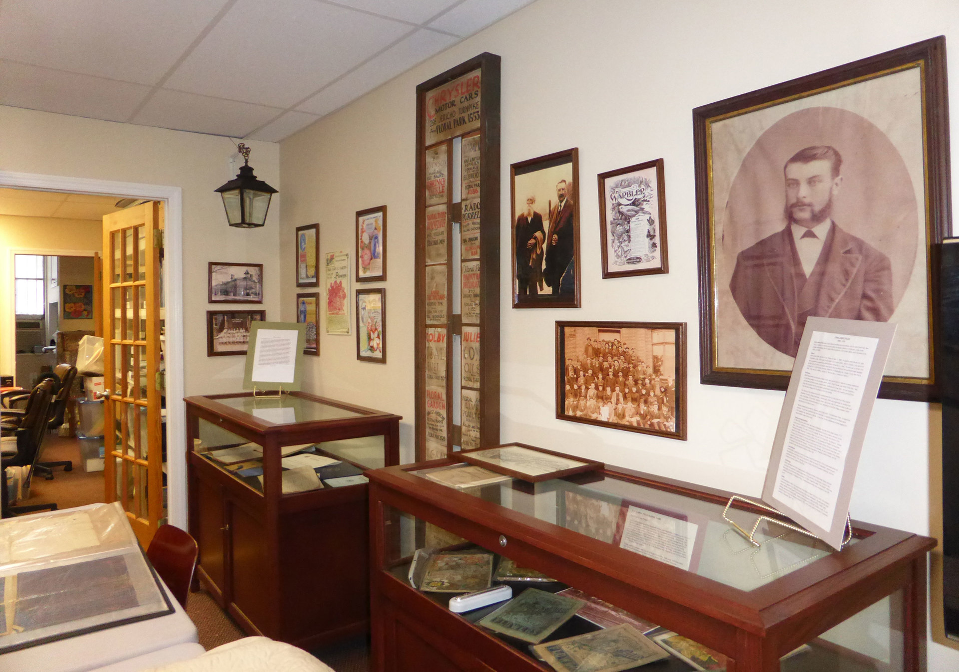 Floral Park Historical Museum in The Tyson Building, Open for Tours by appointment
