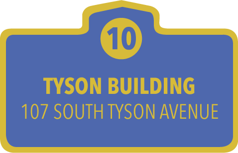 Floral Park New York Historical Marker #10 - The Tyson Building